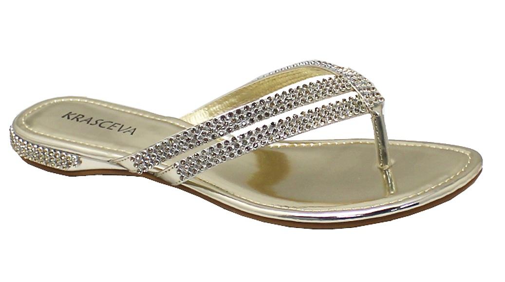 Beach Wedding Flip Flop Sandals