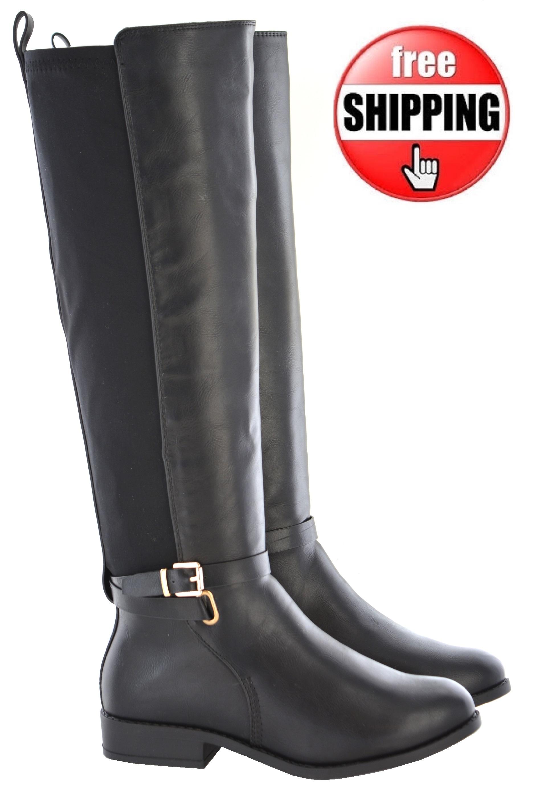 3ea5dc94cc botas de mujer cana ancha