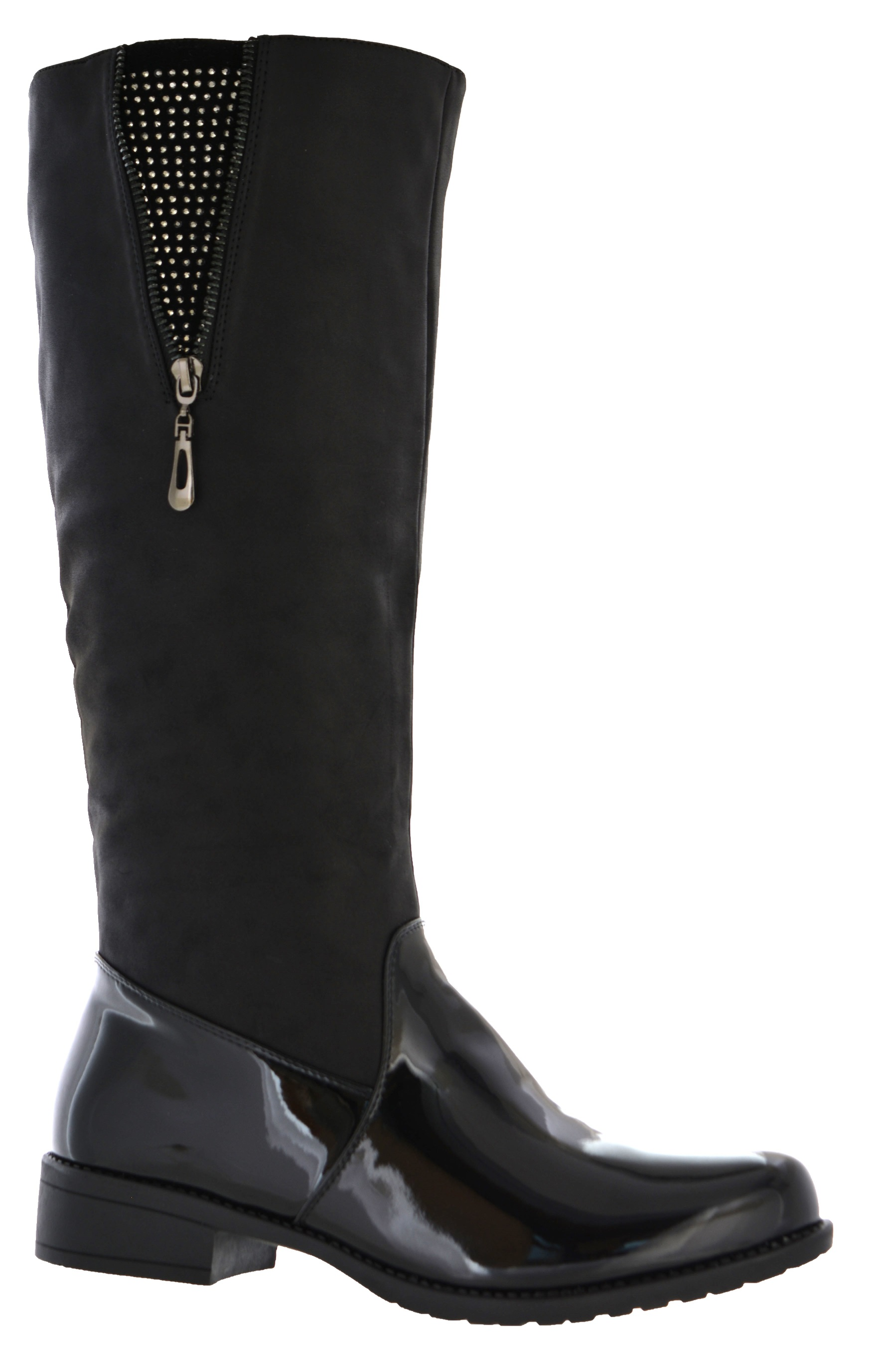 Creative New Womens Knee High Riding Boots Zipper U0026 Buckle Strap Fashion Tan Brown Black | EBay
