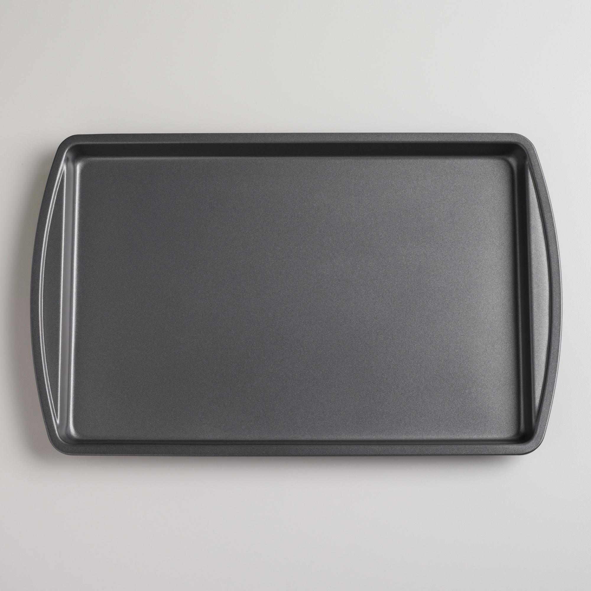 Pme Non Stick Cookie Sheet Cake Baking Pan Flat Tin
