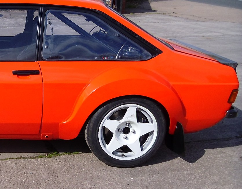 Escort Mk2 Special Extra Large Arch Set Tarmac Rally Big Wing Alloy ...