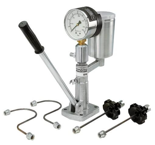 facom fuel injector nozzle pressure tester test pump 916. Black Bedroom Furniture Sets. Home Design Ideas