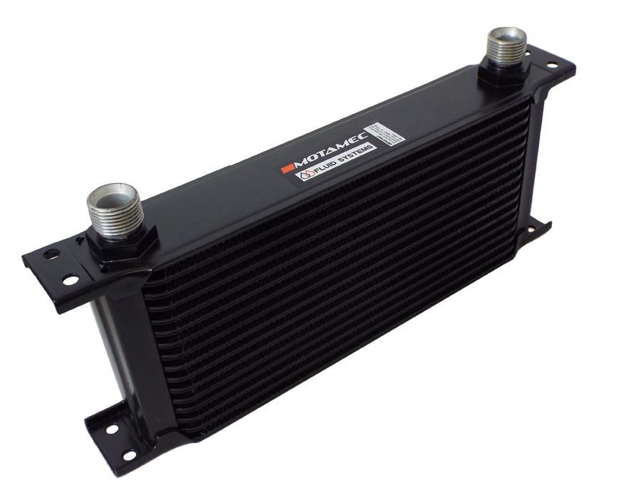 "AeroLine 15  Row Alloy Oil Cooler 1//2/"" BSP Fast Road /& Race UNIVERSAL !!"