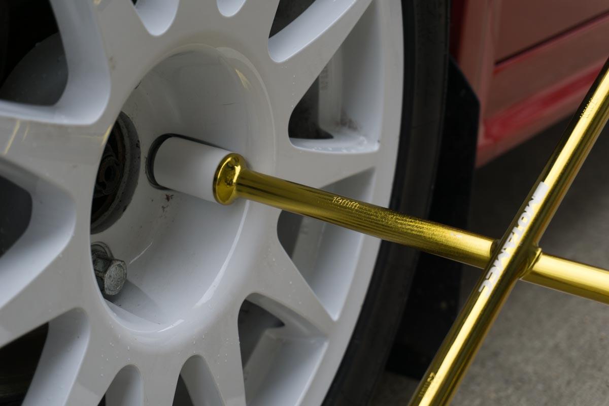 Motamec Alloy Wheel Nut Cross Wheel Brace 17mm 19mm 21mm