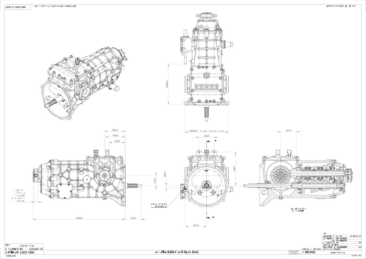 Details about Quaife ZF Transaxle 5-Speed H-Pattern Gearbox