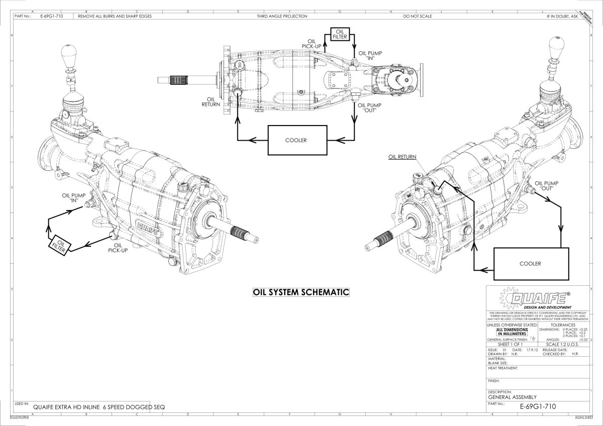 Quaife For Mazda Rx 7 Fd3s 13b Rew 6 Speed Hd Sequential Gearbox Rx7 Engine Diagram Sentinel