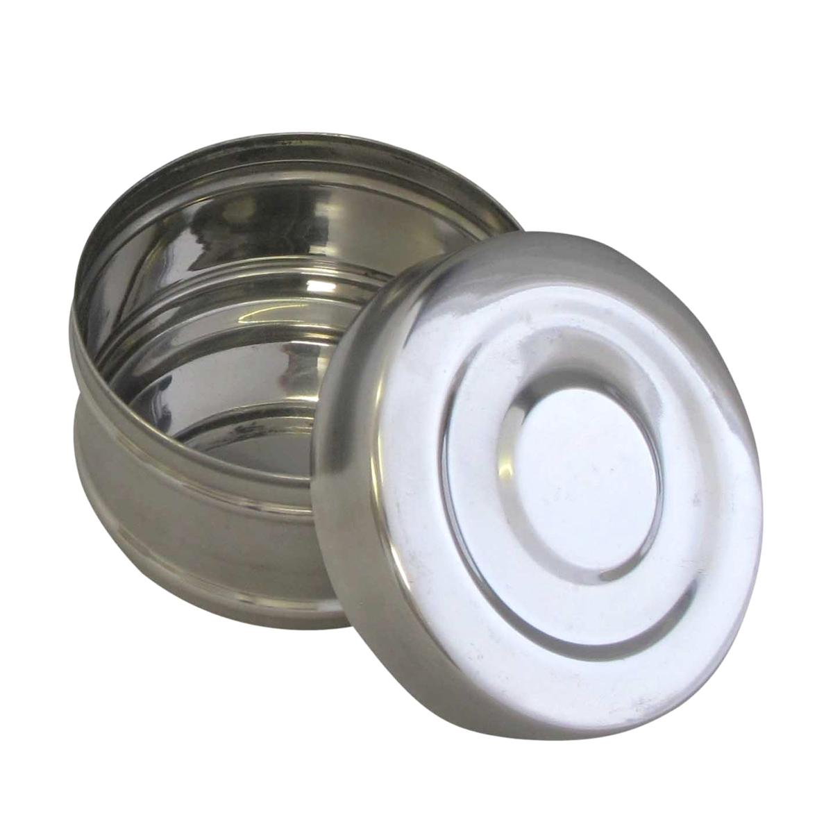 Stainless Steel Tiffin 3 4 Or 2 Section 10cm Indian Lunch