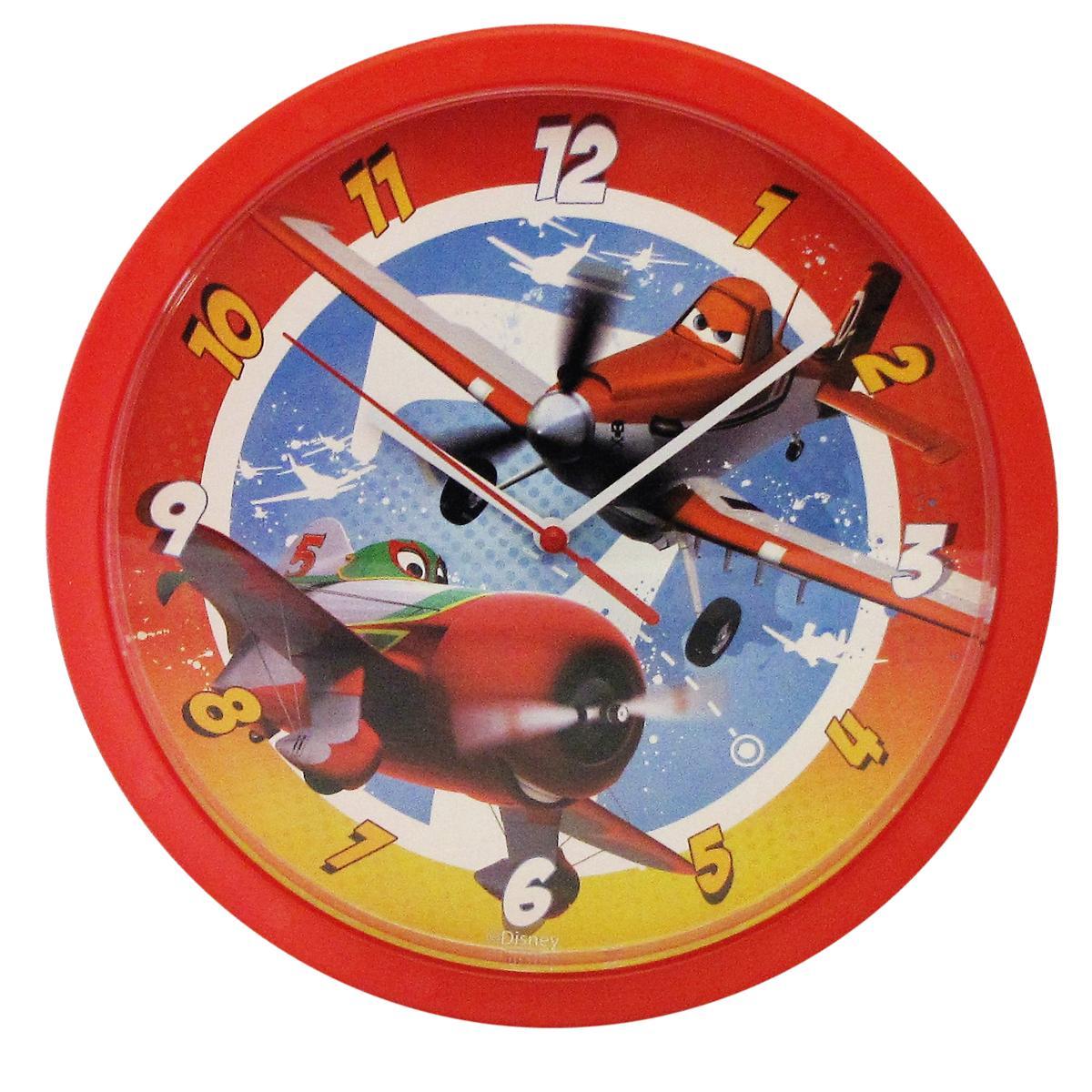 Disney wall clock 25cm round 6 designs cars mickey minnie princess sentinel disney wall clock 25cm round 6 designs cars mickey minnie princess kids room amipublicfo Choice Image