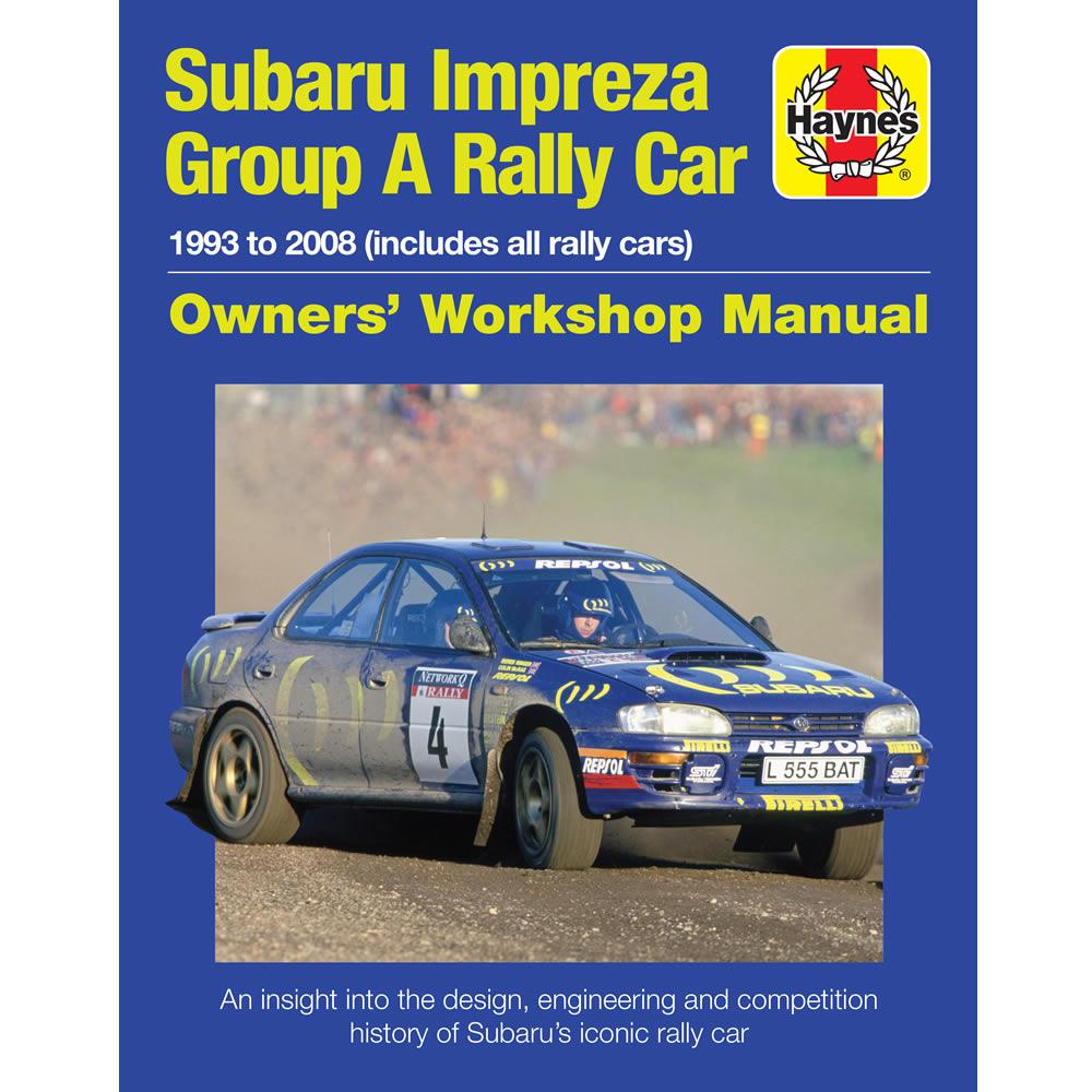 subaru impreza group a rally car owners workshop manual by haynes ebay rh ebay co uk Impreza STI 2018 Impreza WRX