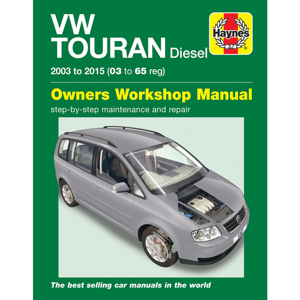vw touran diesel workshop manual 2003 15 1 6 1 9 2 0 diesel workshop rh ebay co uk Volkswagen VW Touran Volkswagen VW Touran