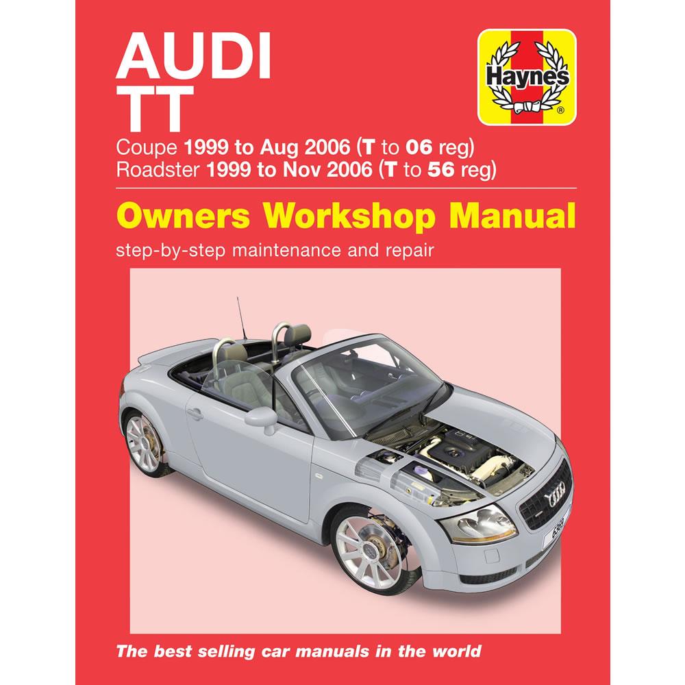 audi tt coupe roadster 1 8 2wd 4wd 1999 2006 haynes workshop manual rh ebay com Audi TT Manual Transmission 2011 Audi TT Owner's Manual