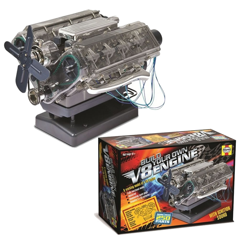 Haynes Build Your Own V8 Combustion Engine Kit HM10