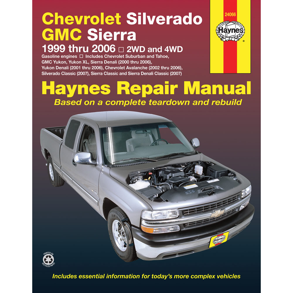 gmc sierra 2500 3500 1999 2006 haynes usa workshop manual ebay rh ebay co  uk Lifted 2000 GMC Sierra 2500 2000 gmc sierra 2500 repair manual pdf