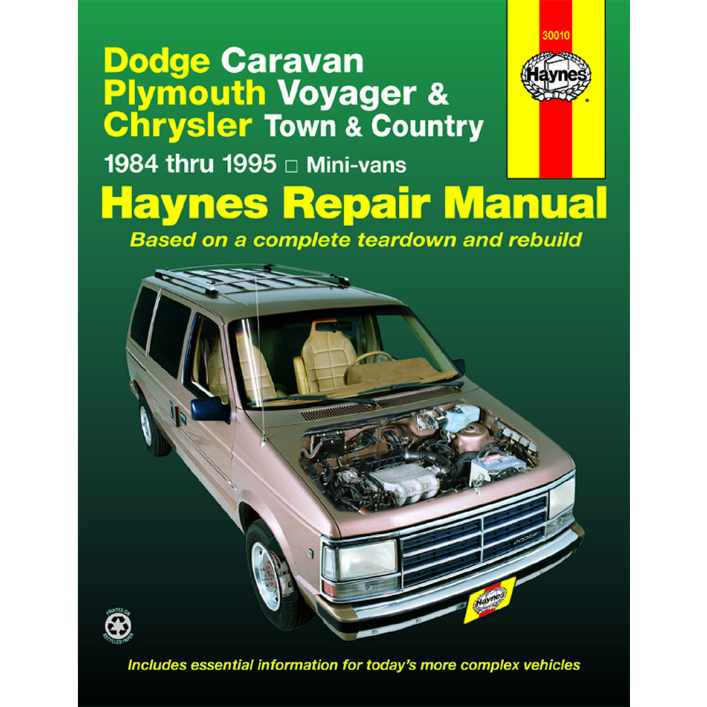 Plymouth Grand Voyager 1988-1995 Haynes USA Workshop Manual