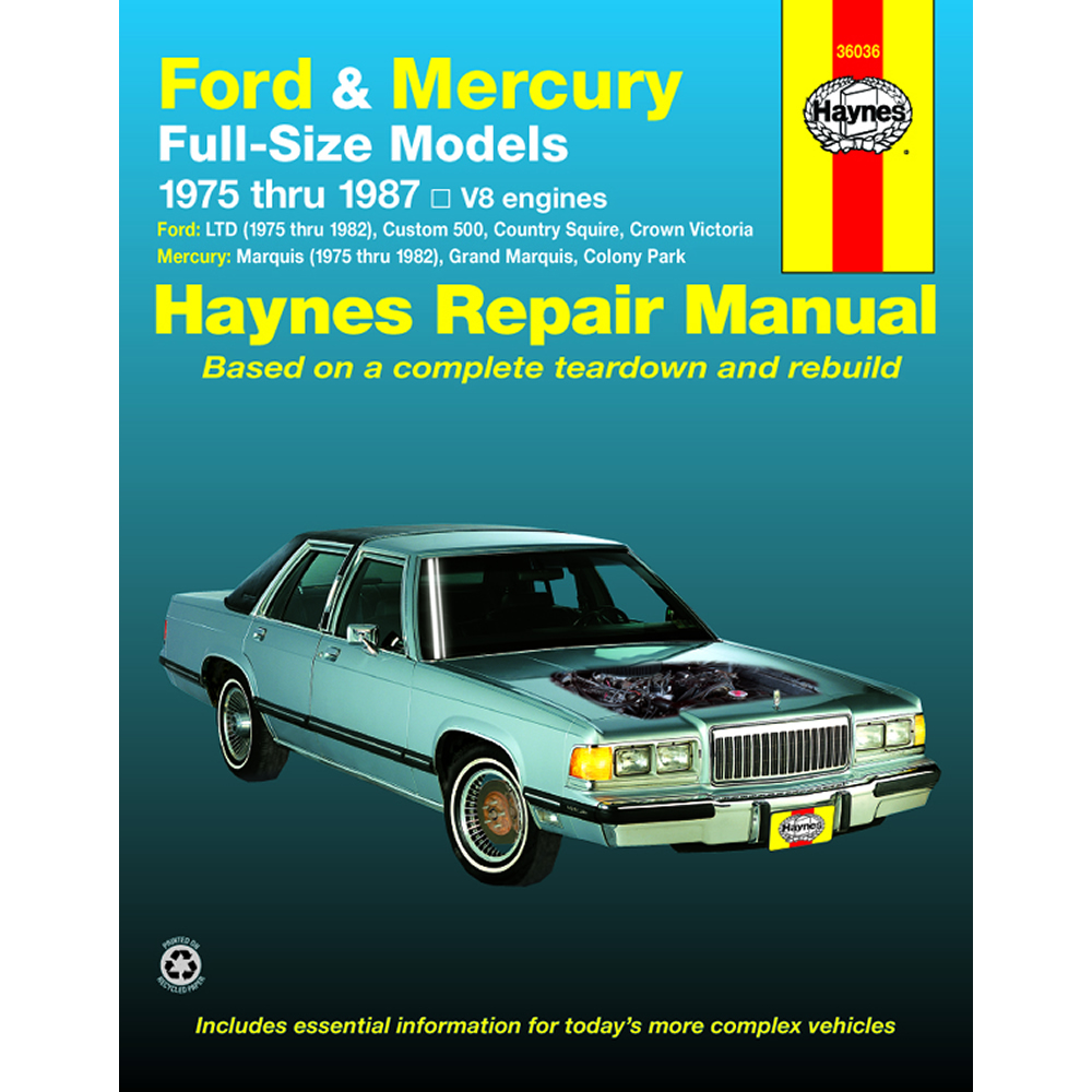 grand marquis repair manual page 2 3 Array - mercury marquis 1975 1982  haynes usa workshop manual ebay rh ebay com