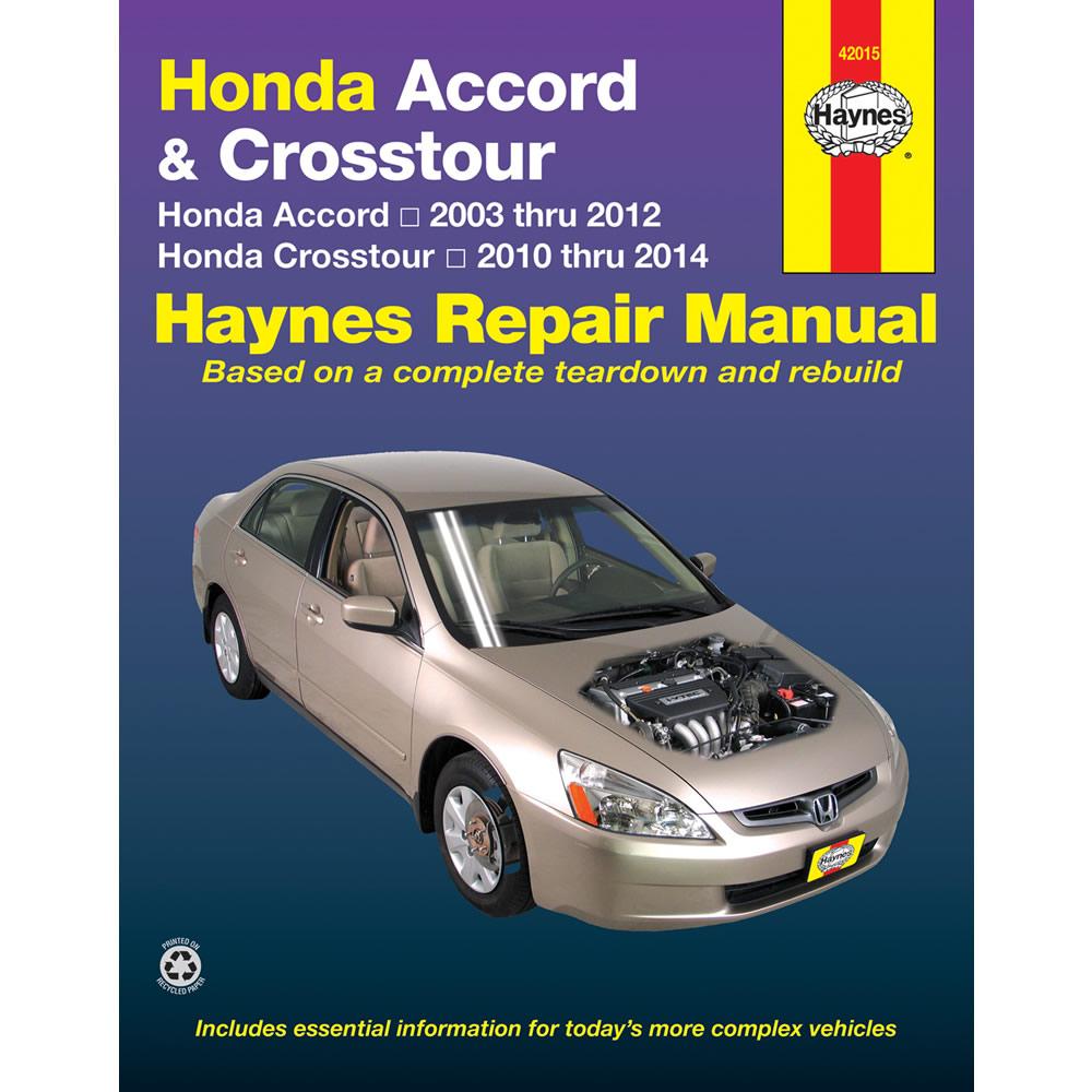 Honda Accord 2003-2012 Haynes USA Workshop Manual