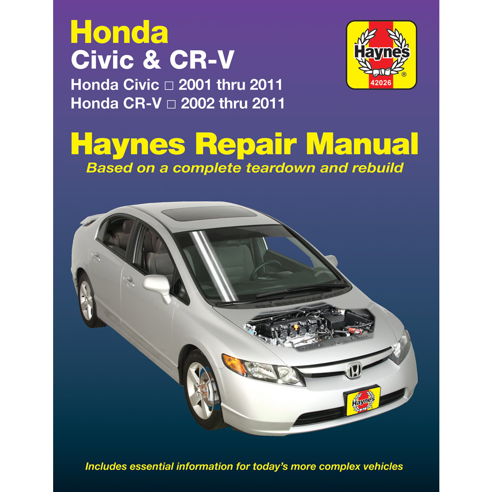 Honda Civic 2001-2011 Haynes USA Workshop Manual