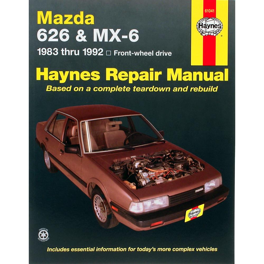 Mazda 626 C 1983-1992 Haynes USA Workshop Manual