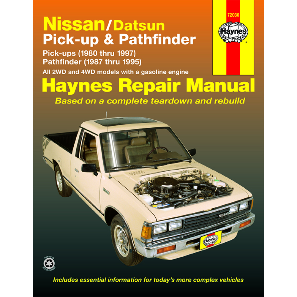Nissan 720 and D21 1980-1997 Haynes USA Workshop Manual