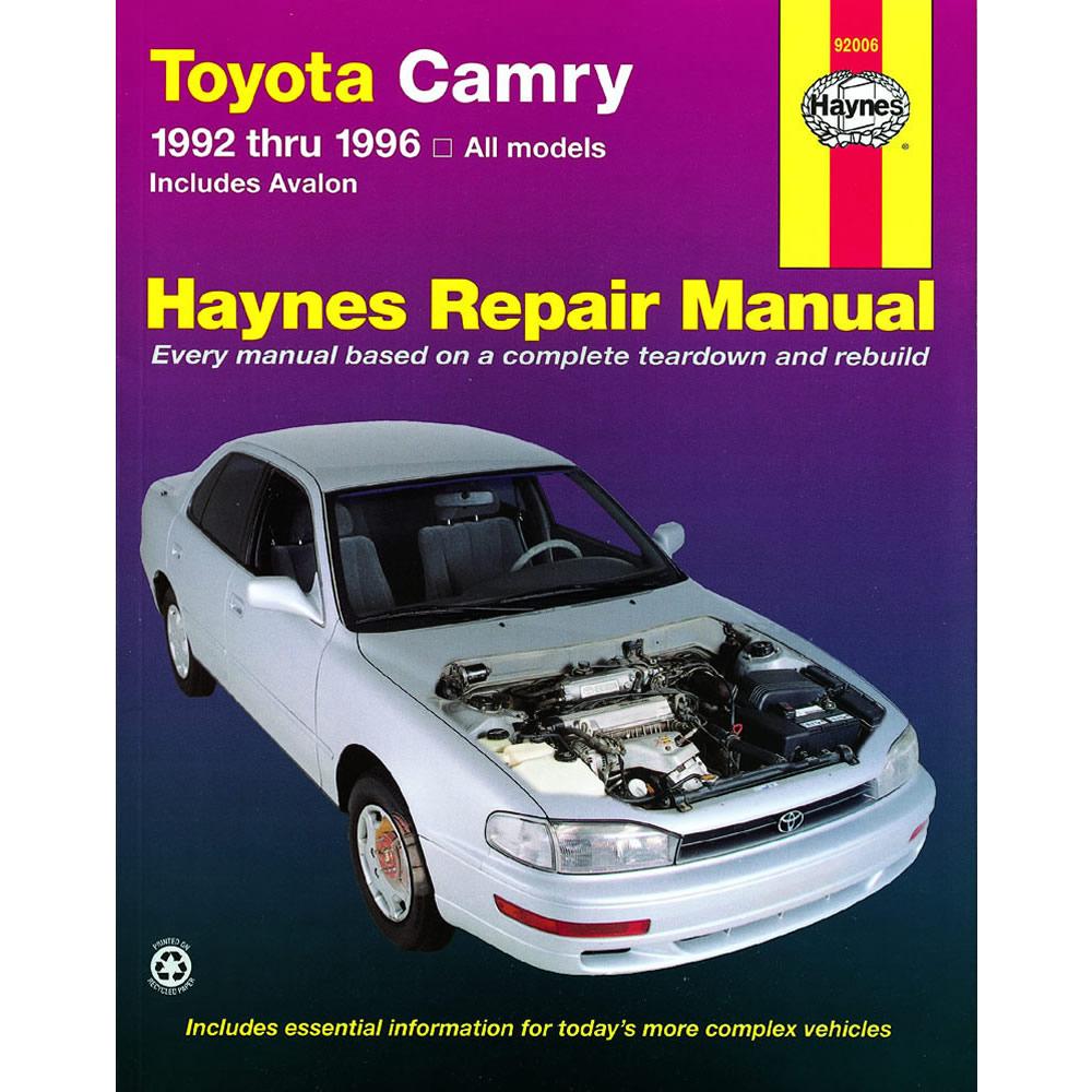 toyota avalon 1995 1996 haynes usa workshop manual ebay rh ebay co uk 1998 Toyota  Avalon 1997 Toyota Avalon