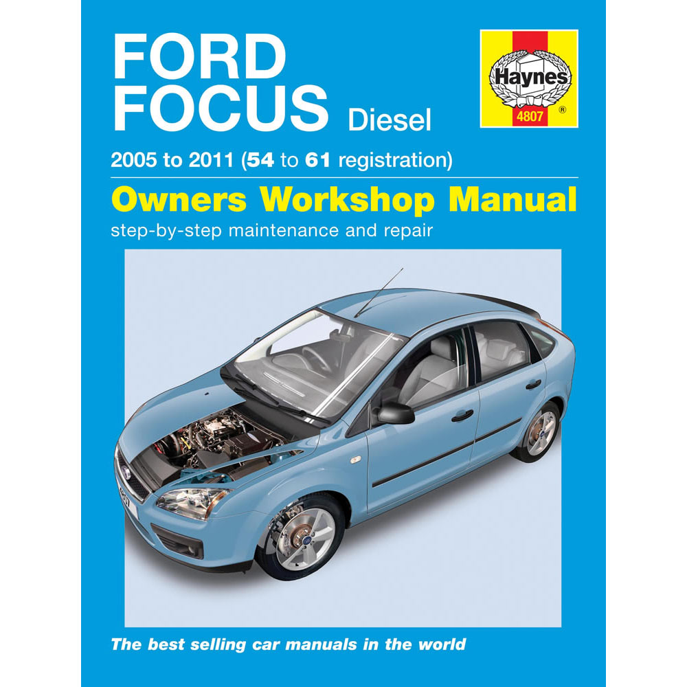 haynes manual ford focus 1 6 1 8 2 0 diesel 05 09 54 09 reg ebay rh ebay co uk ford focus sync 2 manual pdf ford focus 2 manuel