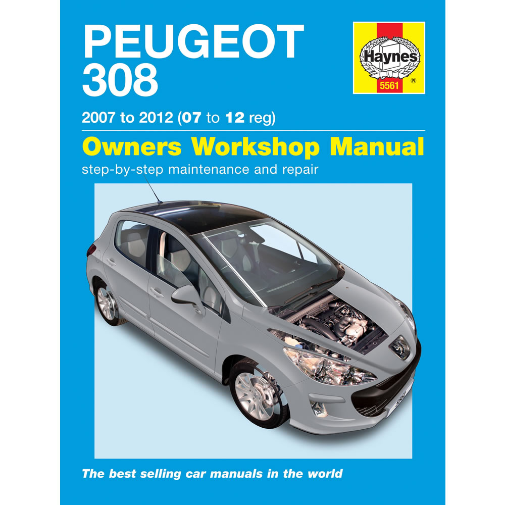 5561  Peugeot 308 1 4 1 6 Petrol 1 6 Diesel 2007