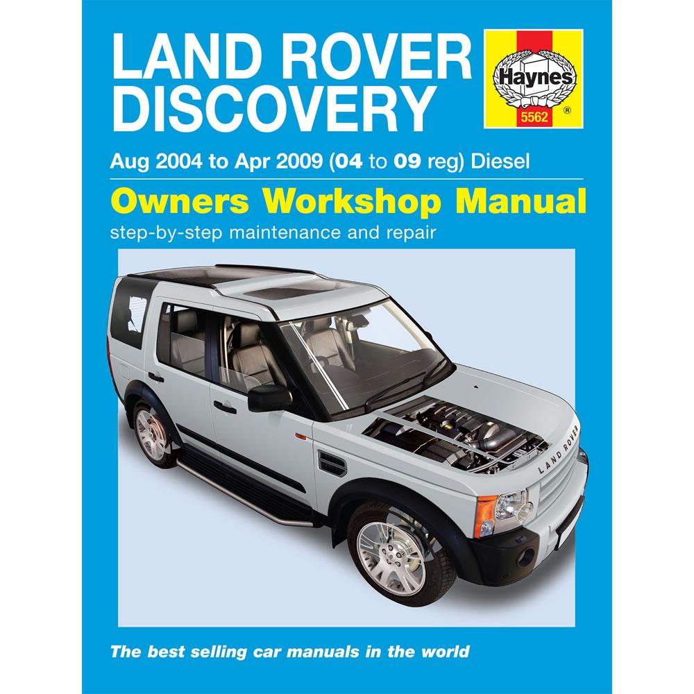 [5562] Land Rover Discovery 3 2.7 V6 TD 2004-09 Haynes Workshop Manual