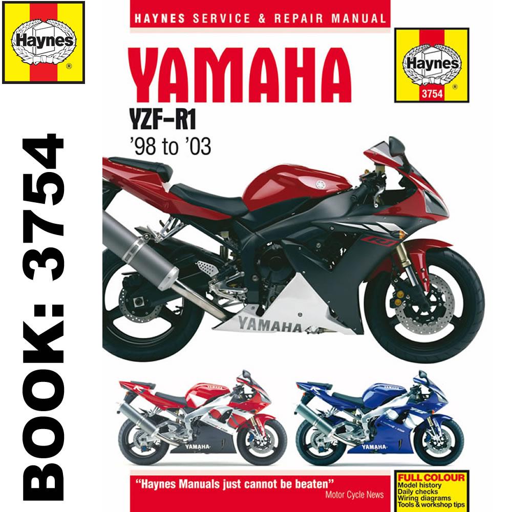 Yamaha YZF-R1 1998-2003 Haynes Workshop Manual