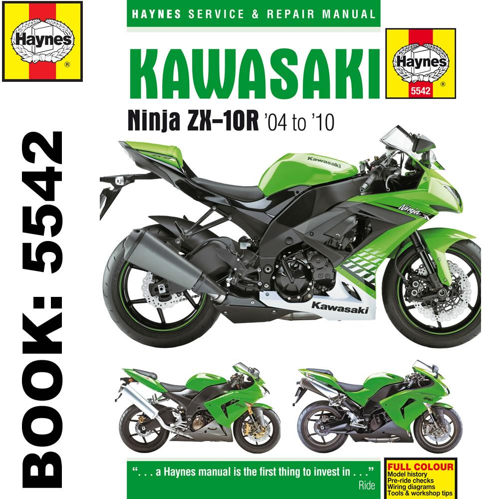 Kawasaki Ninja ZX-10R 2004-2010 Haynes Workshop Manual