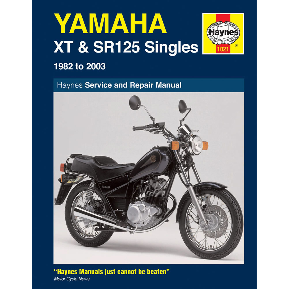 Yamaha XT SR 125 XT125 SR125 1982-2003 Haynes Workshop Manual Service Repair