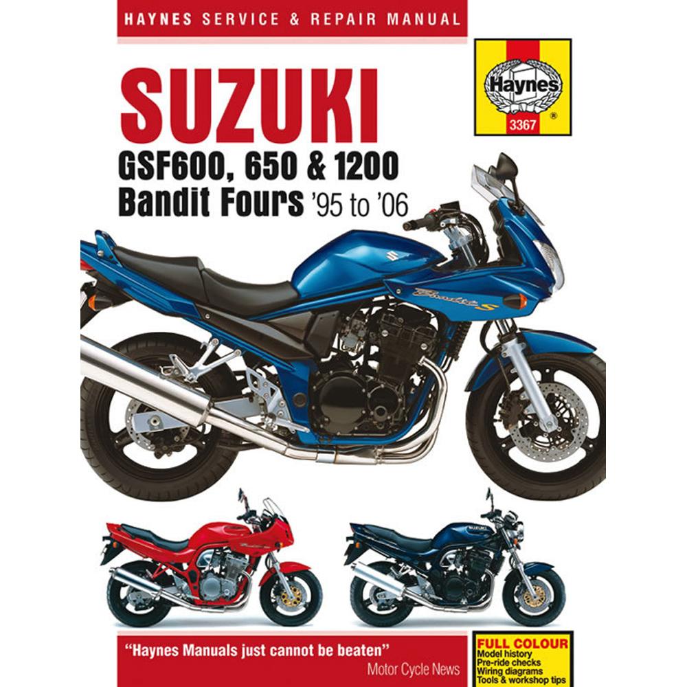 Suzuki Bandit Fours Haynes Manual 1995