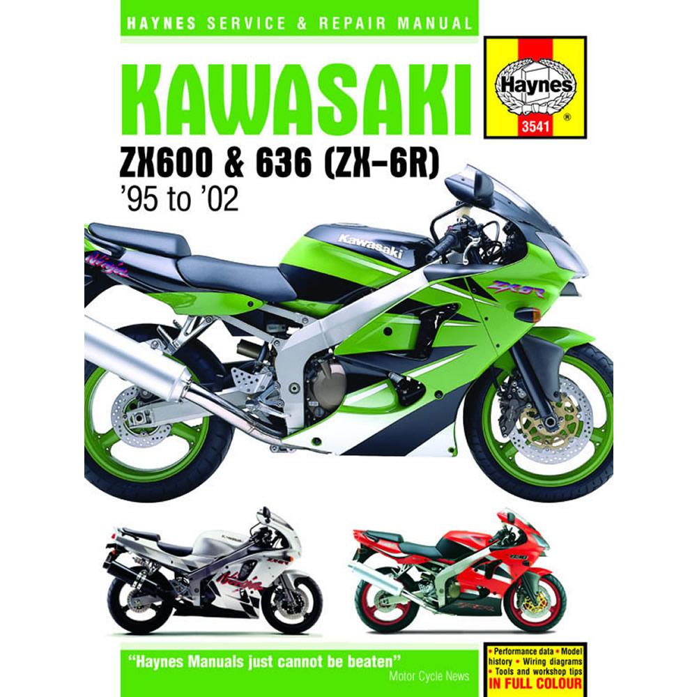 Kawasaki Zx600 Haynes Manual 1995