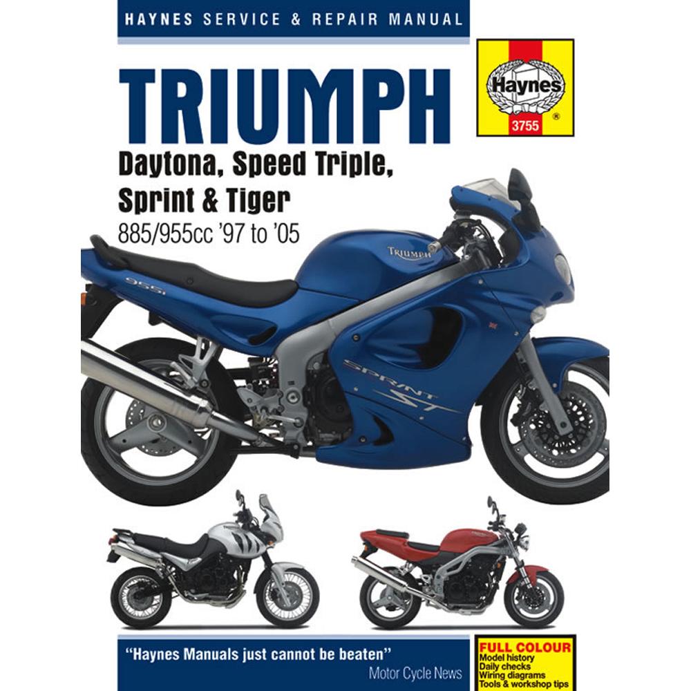 TRIUMPH DAYTONA 955i & SPEED TRIPLE 2002-2003 SERVICE WORKSHOP ...