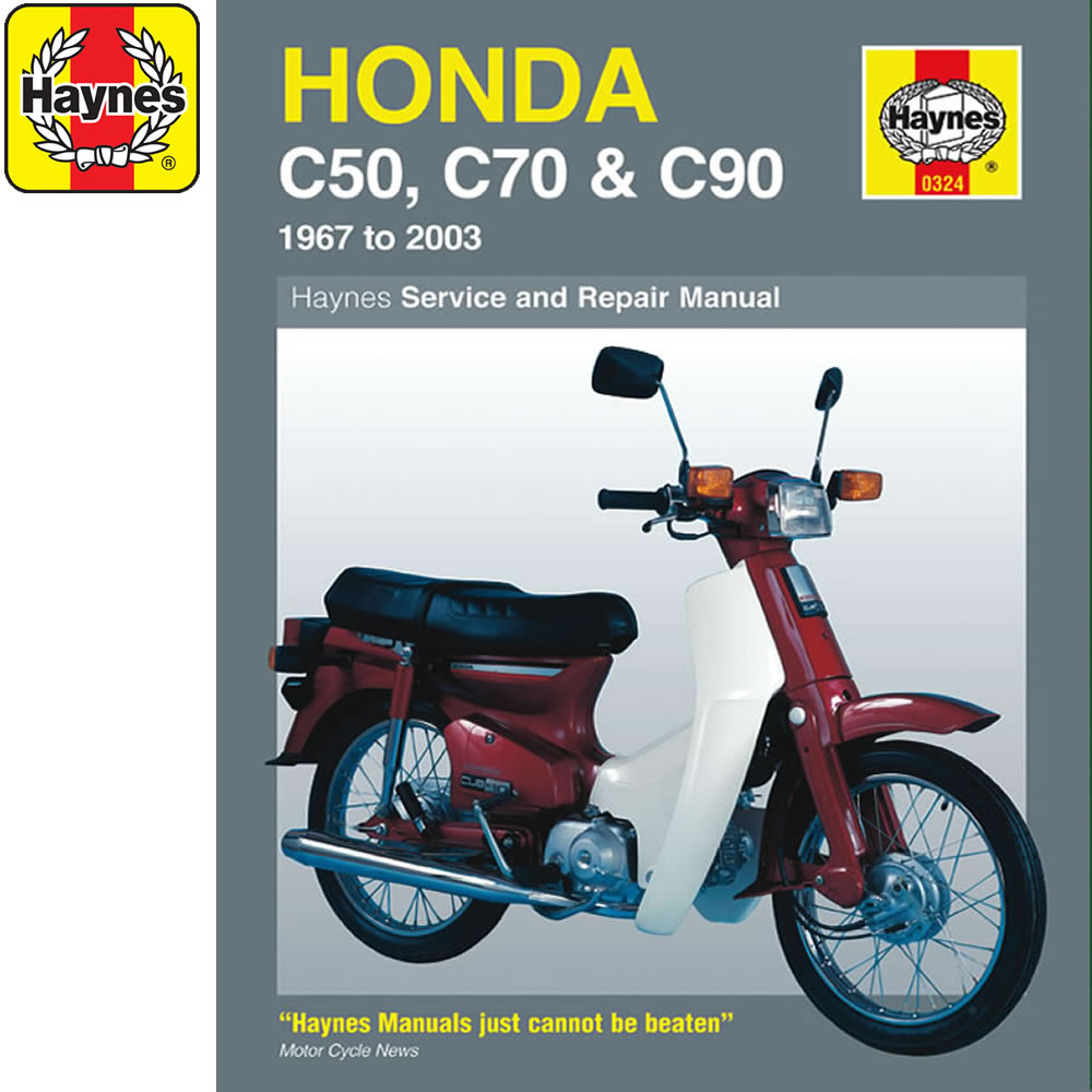 0324 Honda C50 C70 C90 1967 2003 Haynes Workshop Manual Ebay 1 Set