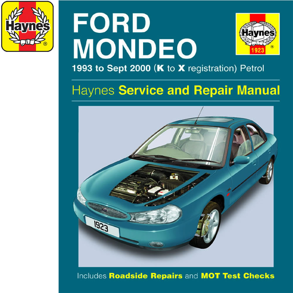 [1923] Ford Mondeo 1.6 1.8 2.0 Petrol 1993-00 (K to X Reg) Haynes Manual