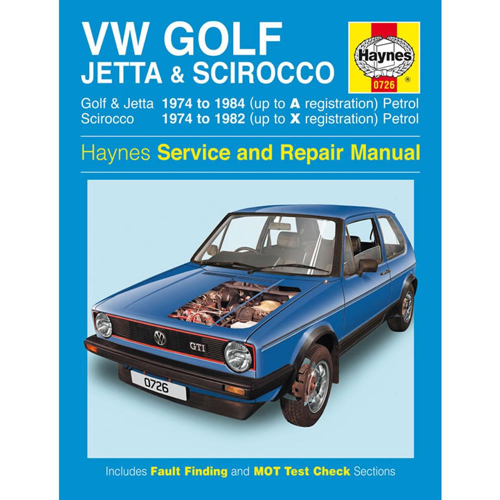 vw golf jetta scirocco 1 5 1 6 1 8 petrol 1974 84 up to a reg rh ebay co uk MK4 Golf Golf GTI MK1