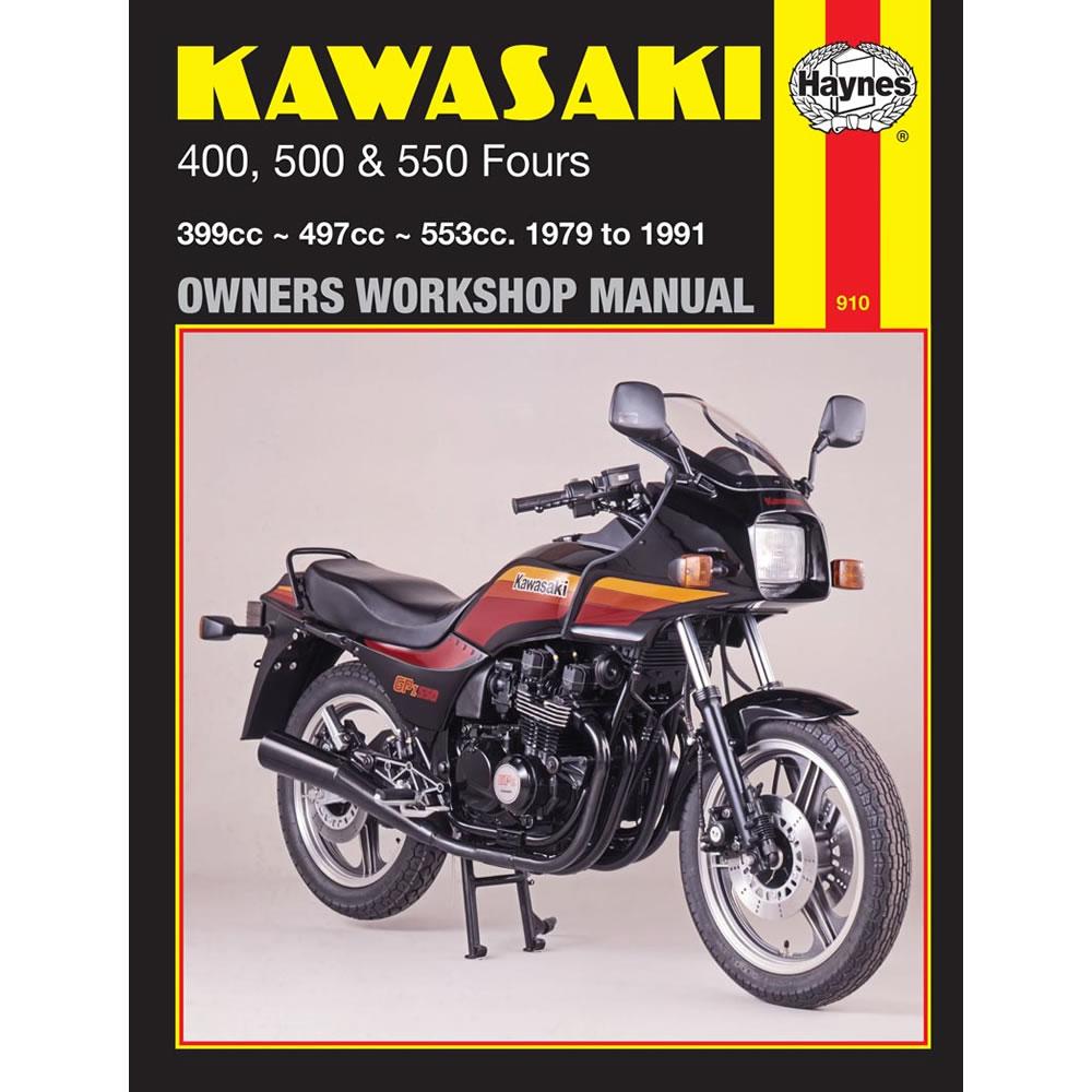 Kawasaki 400 500 550 Fours 1979-91 Haynes Workshop Manual