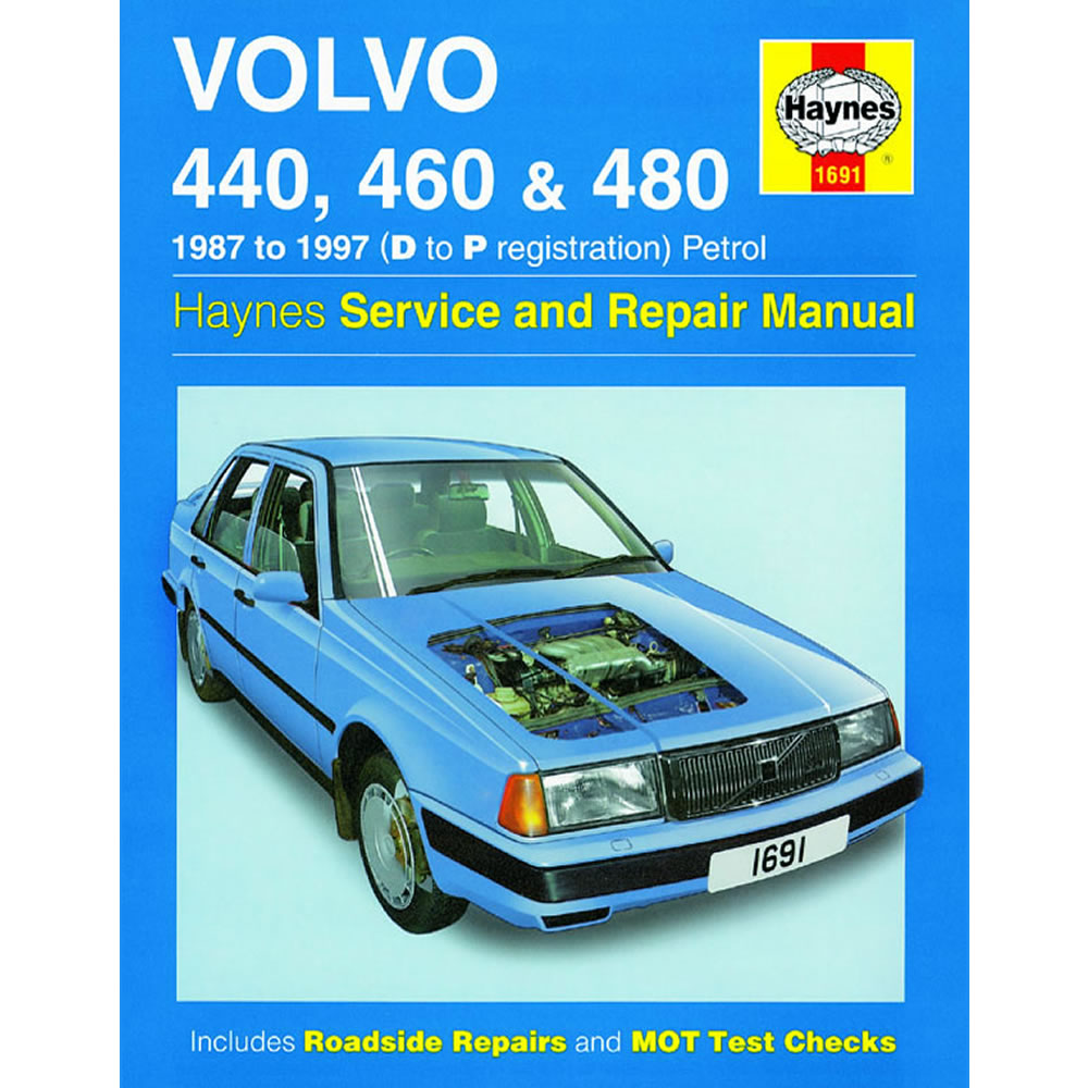 Volvo 440 460 480 Haynes Manual 1987-97 1.6 1.7 1.8 2.0 Petrol Workshop