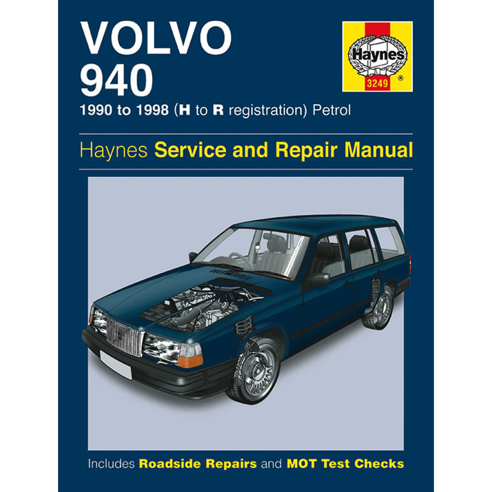 Volvo 940 Haynes Manual 1990-98 2.0 2.3 Petrol Workshop