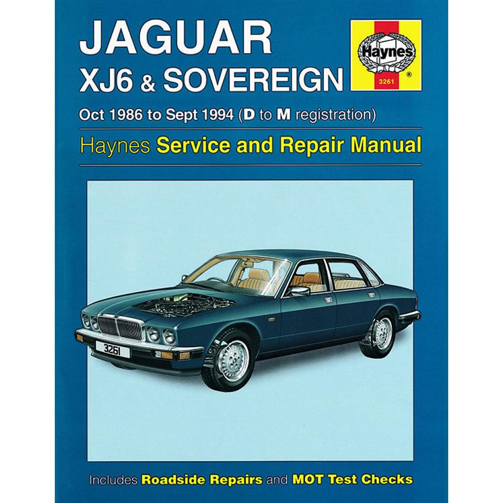 Jaguar XJ6 Sovereign Haynes Manual 1986-94 3.2 3.6 4.0 Petrol Workshop