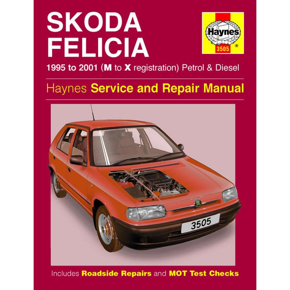 Skoda Felicia Haynes Manual 1995-01 1.3 1.6 Petrol 1.9 Diesel Workshop  Manual