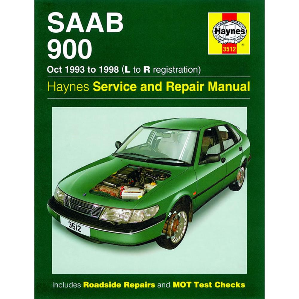 Saab 900 Haynes Manual 1993-98 2.0 2.3 Petrol Workshop Manual