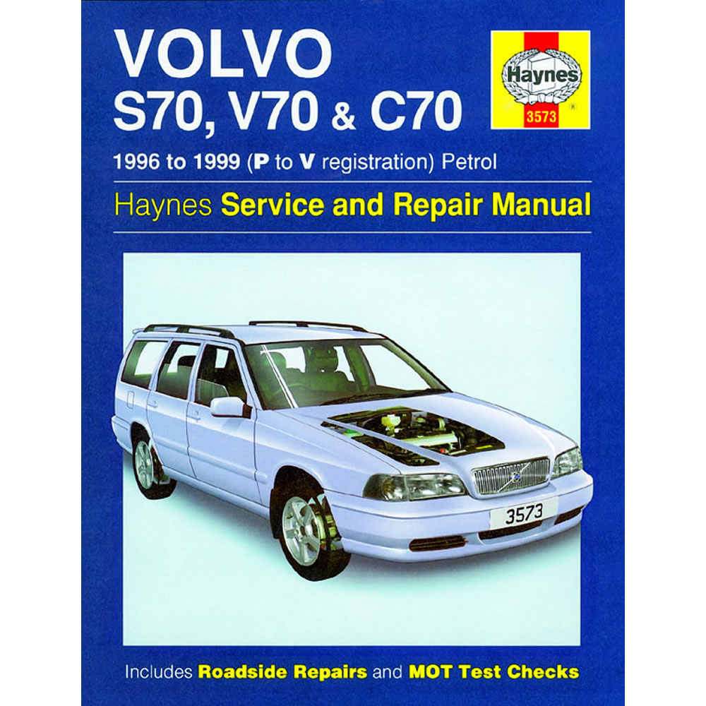 Volvo S70 V70 C70 Haynes Manual 1996-99 2.0 2.3 2.5 Petrol Workshop Manual