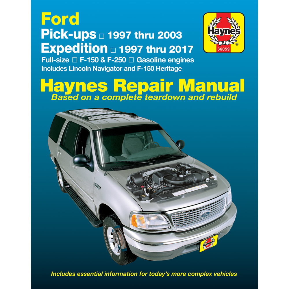 Ford F150 Heritage 2004 Haynes USA Workshop Manual
