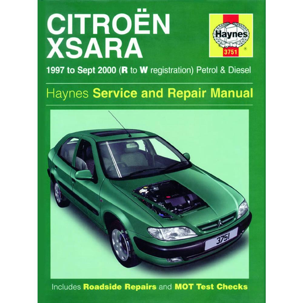 Citroen Xsara Haynes Manual 1997-00 1.4 1.6 1.8 Petrol 1.9 2.0 Diesel  Workshop