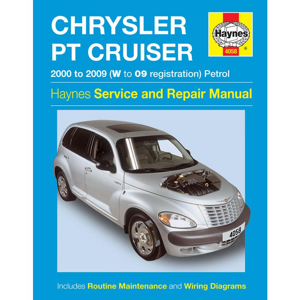 Chrysler PT Cruiser Haynes Manual 2000-09 2.0 2.4 Petrol Workshop Manual