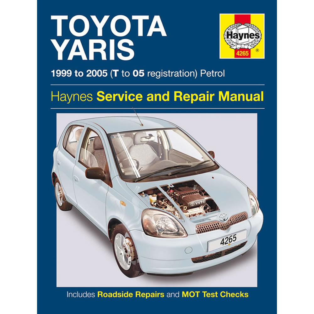 Toyota Yaris Haynes Manual 1999