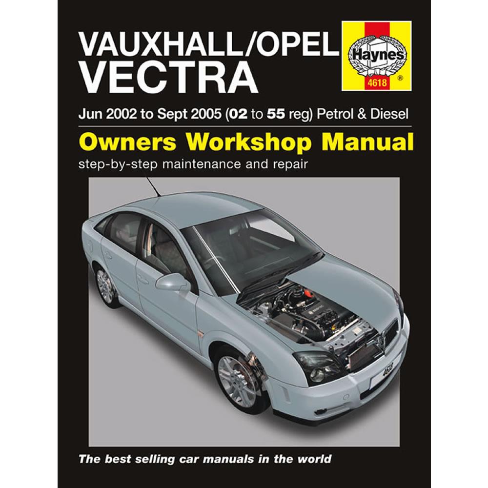 Vauxhall Vectra Haynes Manual 2002-05 1.8 2.2 Petrol 1.9 2.0 2.2 Diesel