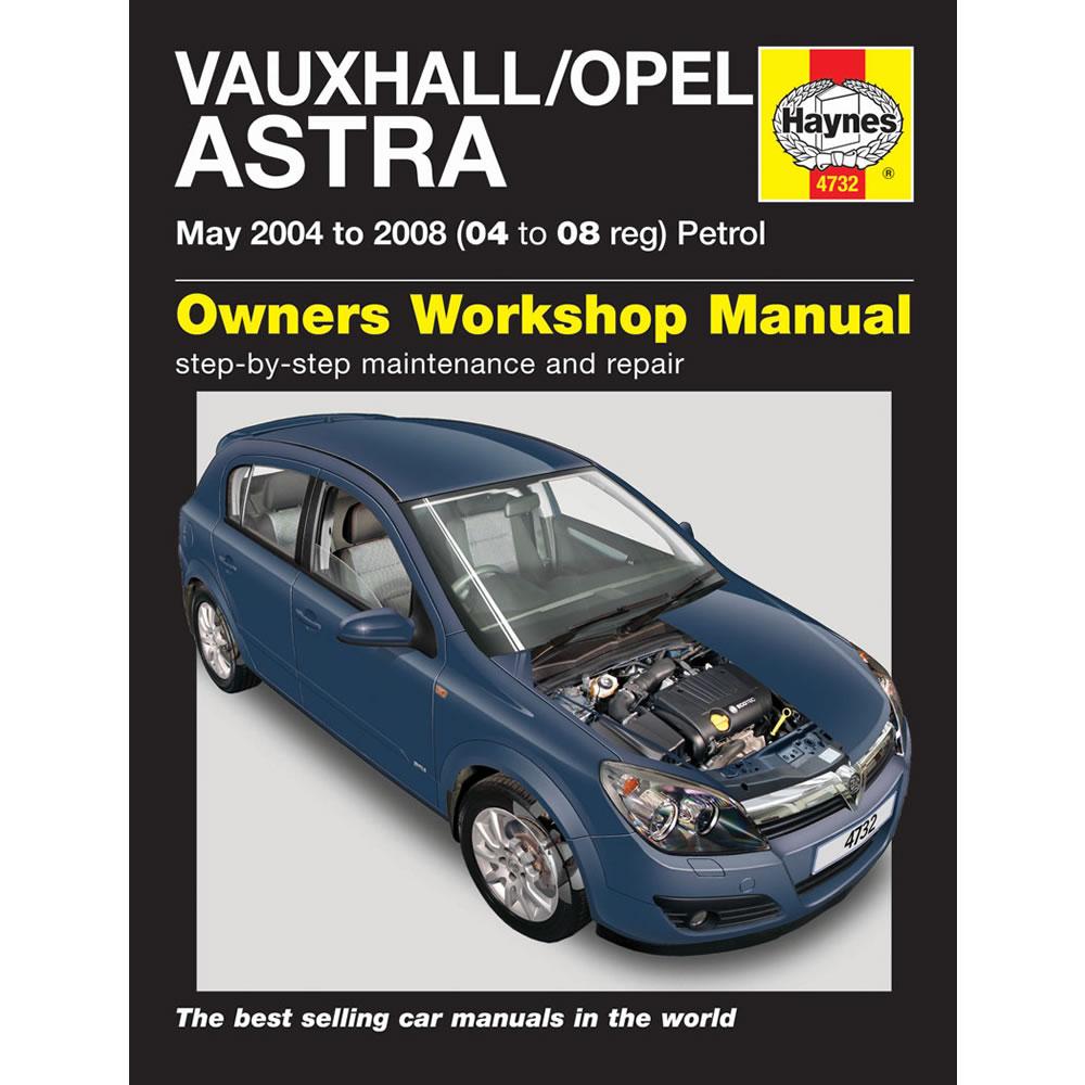 Vauxhall Astra Haynes Manuals 2004-08 1.4 1.6 1.8 Petrol Workshop Manual