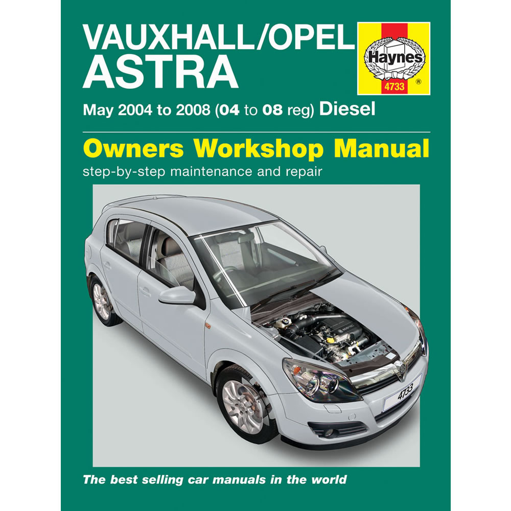 Vauxhall Astra Haynes Manual 2004-08 1.3 1.7 Diesel Workshop
